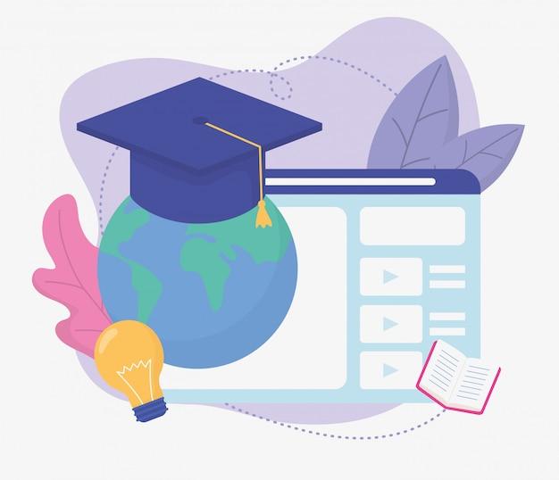 Światowa strona internetowa edukacja szkolna online