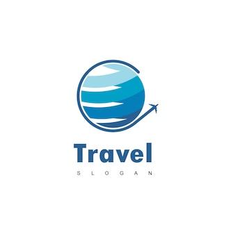Światowe logo podróży
