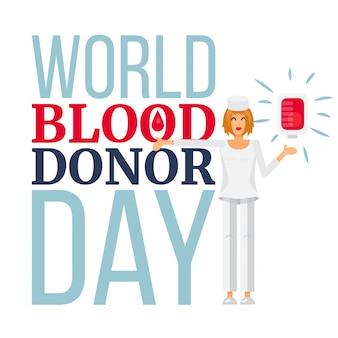 Światowy dzień dawców krwi
