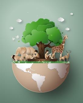 Światowy dzień dzikich zwierząt