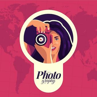Światowy dzień fotografii z fotografką