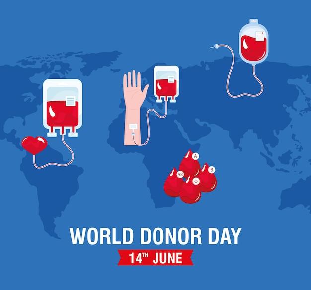 Światowy dzień krwiodawstwa