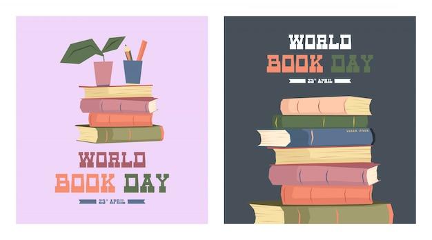 Światowy dzień książki ilustracji wektorowych