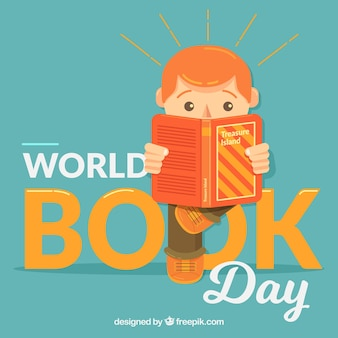 Światowy dzień książki tła