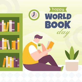 Światowy dzień książki tło