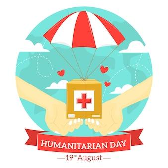 Światowy dzień pomocy humanitarnej z pomocą
