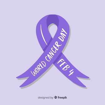Światowy dzień raka tło