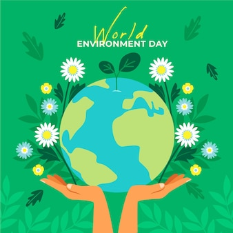 Światowy dzień środowiska ziemi i kwiatów