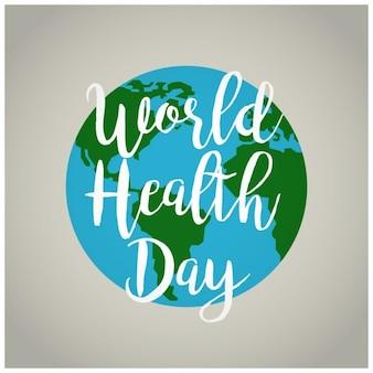 Światowy dzień zdrowia globe