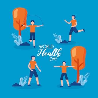 Światowy dzień zdrowia ludzi