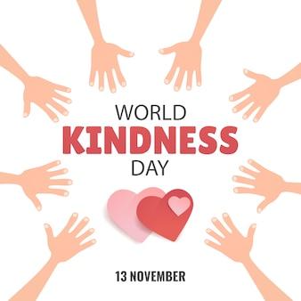 Światowy dzień życzliwości.