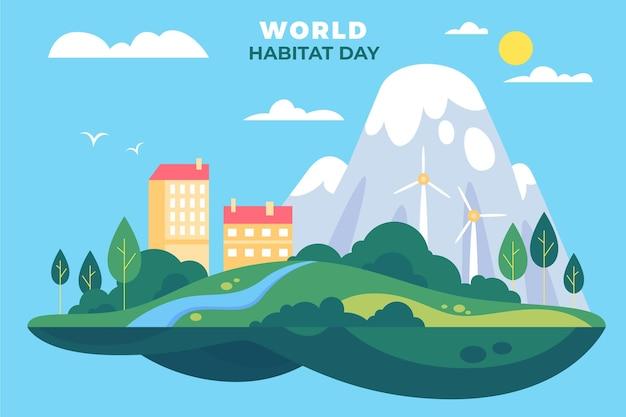 Światowy motyw dnia siedlisk