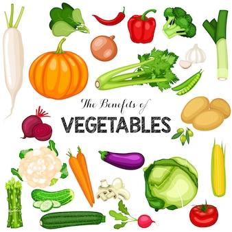 Światowy plakat dzień wegańskie z płaskim tle warzyw