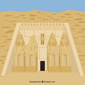 Świątyni abu simbel