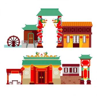 Świątynia chińskiego miasta