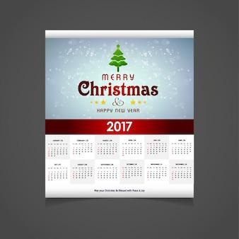 Świecące narodzenie 2017 kalendarz