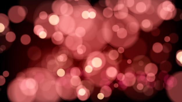 Świecące przezroczyste tło bokeh. ilustracja