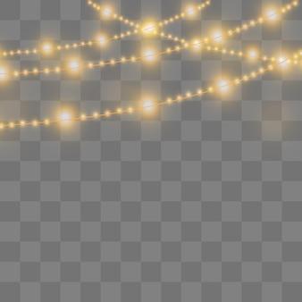 Świecące świąteczne girlandy. ledowa lampa neonowa.
