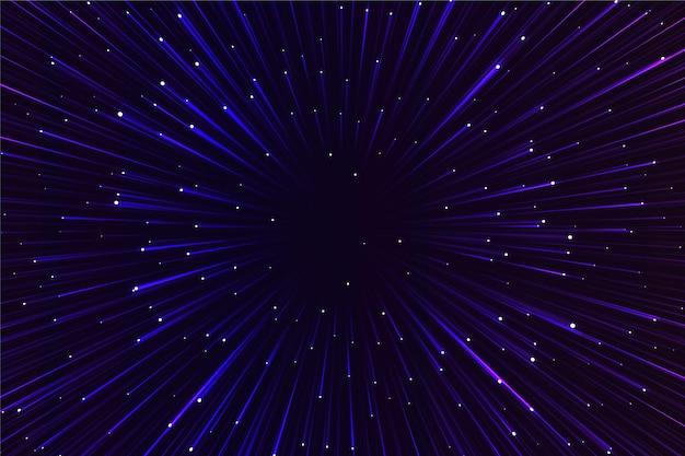 Świecące światła prędkości