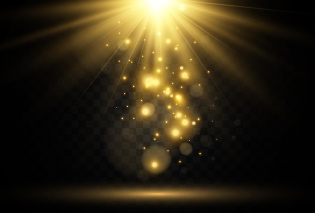 Świecące światło