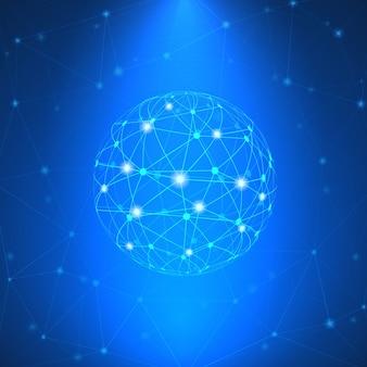 Świecące znak sieci