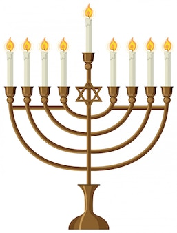 Świecznik i zapalanie świec