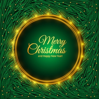 Święta bożego narodzenia dla projektu gałęzi jodły