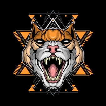 Świętej geometrii dzikiego kota