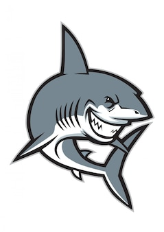 Świetna maskotka rekina