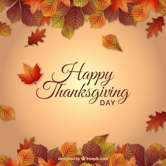 Święto dziękczynienia w tle