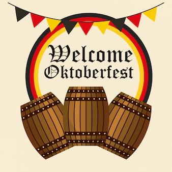 Święto niemieckiego oktoberfest