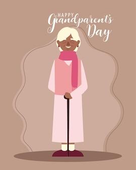 Świętowanie szczęśliwego dnia dziadków