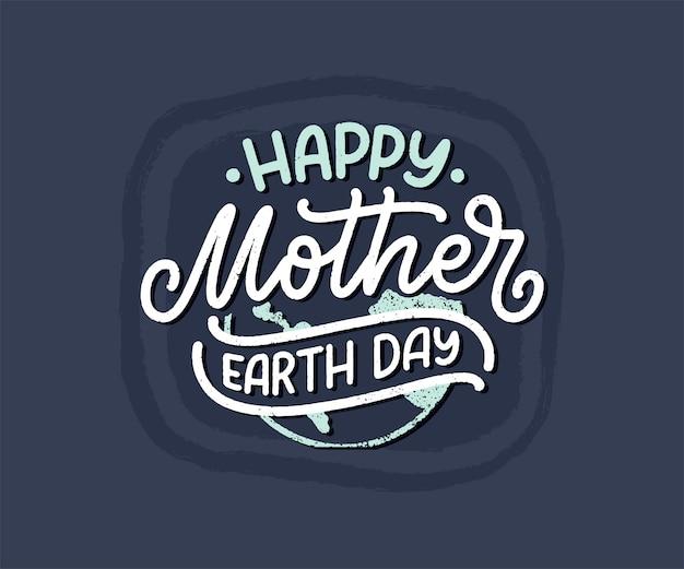 Świętuj dzień matki ziemi