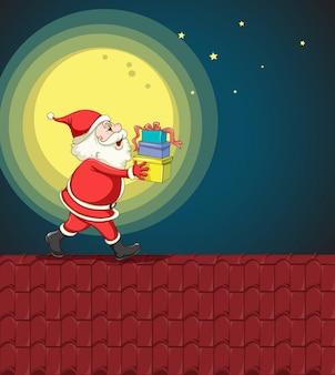 Święty mikołaj i prezenty