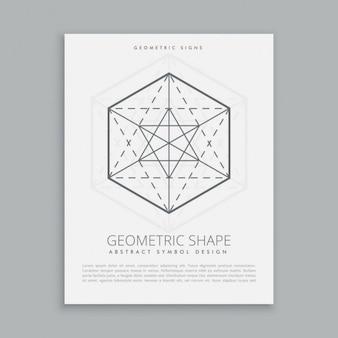 Święty symbol geometryczny
