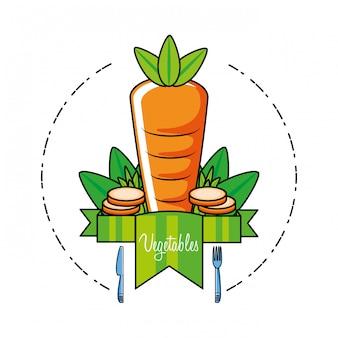 Świeża i pyszna marchewka