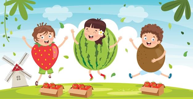 Świeże owoce dla zdrowego odżywiania