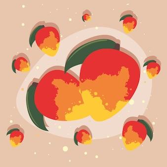 Świeże owoce mango