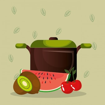 Świeże owoce zdrowa żywność