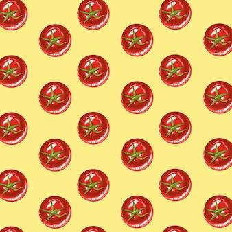 Świeże pomidory warzywa zdrowy wzór