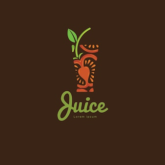 Świeżych pomidorków sok logo wektorowe ilustracje