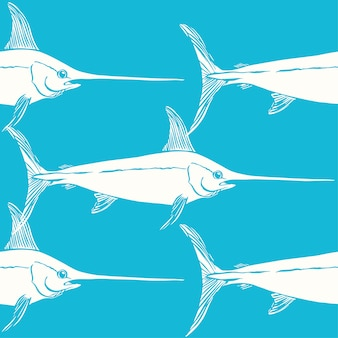 Swordfishes wzornictwo