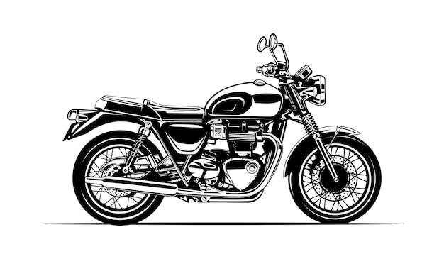 Sylwetka motocykla