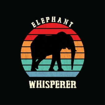 Sylwetka słonia