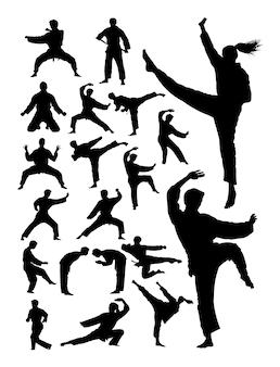 Sylwetka sztuki walki karate