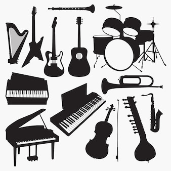Sylwetki instrumentów muzycznych
