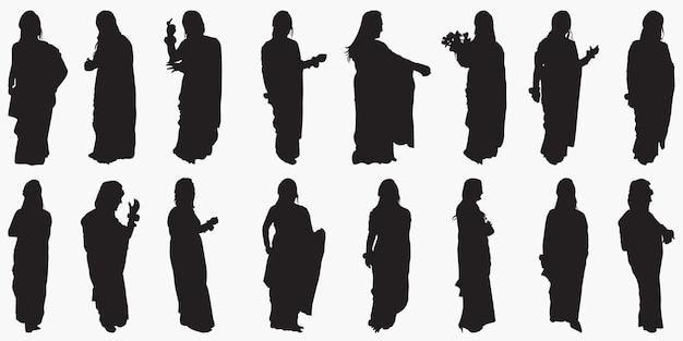 Sylwetki kobiet
