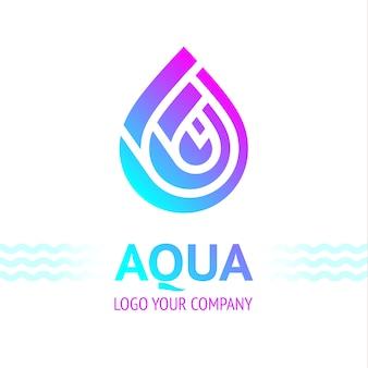 Symbol kropli wody