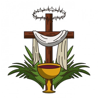 Symbol krzyża chrześcijańskiego