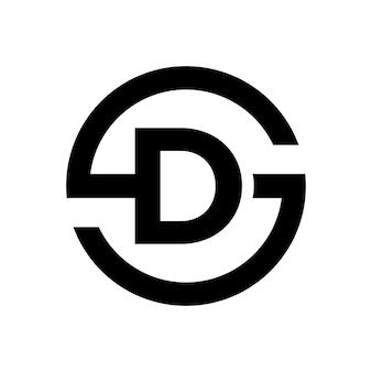 Symbol litery s połączenie z literą d